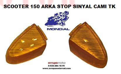 SİNYAL ARKA SCOOTER 151 RS-A-