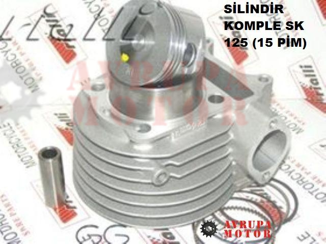02-SİLİNDİR KOMPLE SCOOTER 125-A-