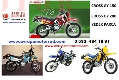 01-Cross GY 150 On Fren Sıstemı