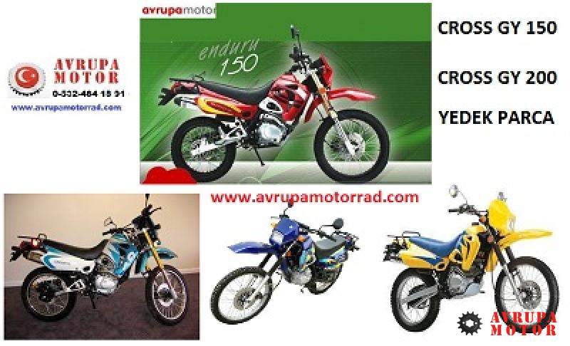 02-Cross GY 150 On Fren Sıstemı