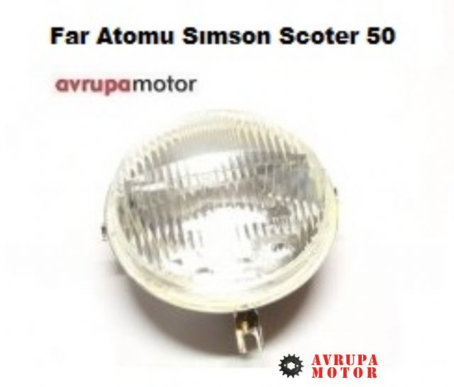 Far Atomu Sımson Scoter 50-A-