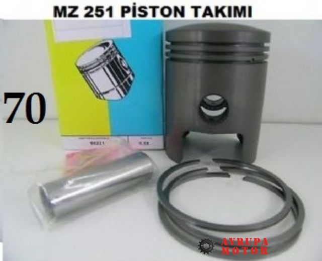 MZ Piston 251 (70) TK