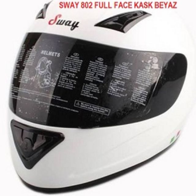 Kask Full Face Sway 802