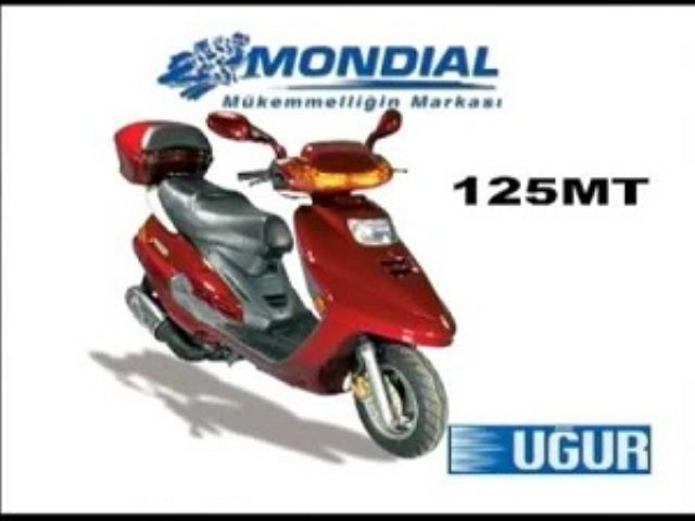 On Amortisor Sct.MT 125-B-